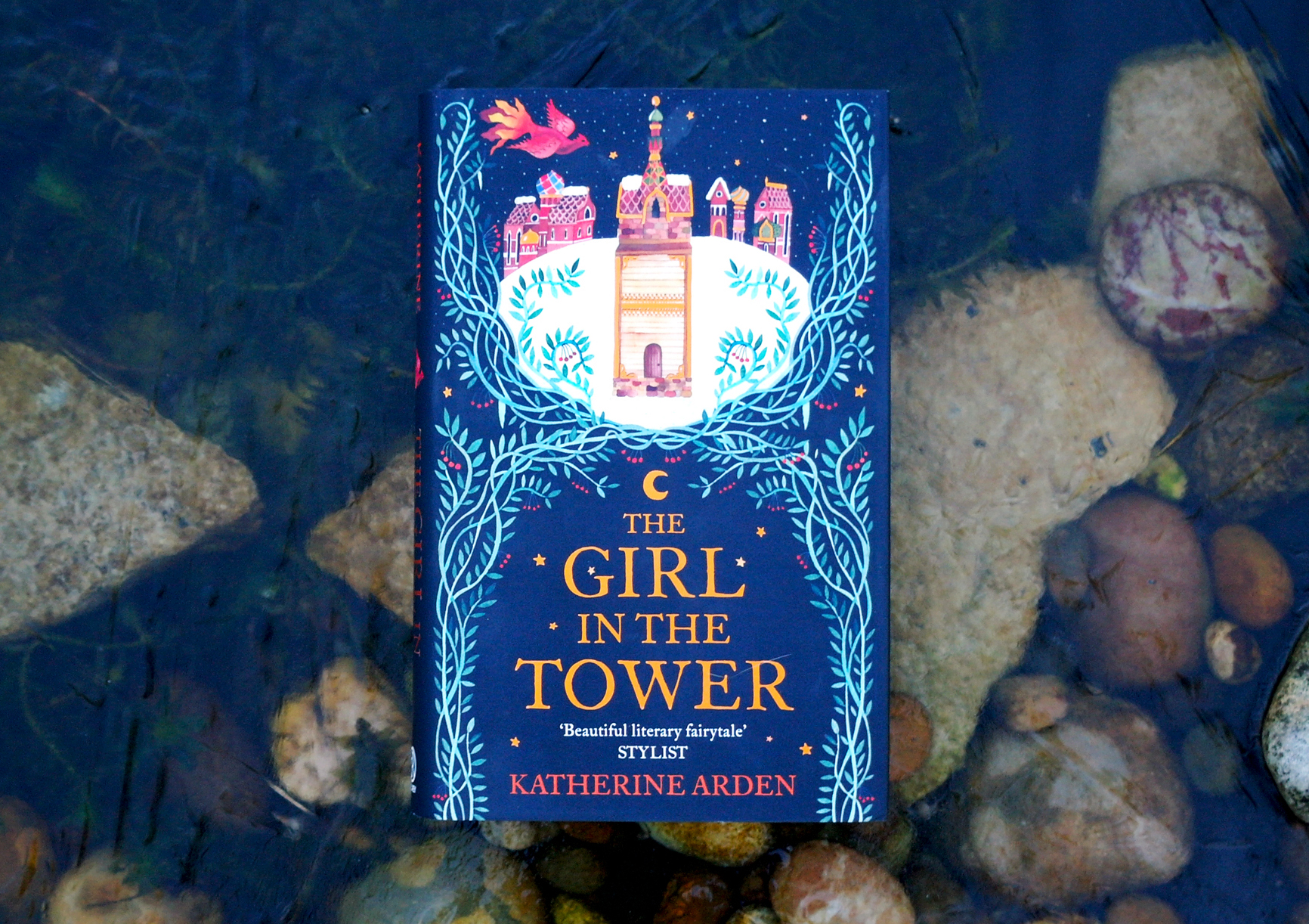 The Girl in the Tower by Katherine Arden. Book cover. Book review.