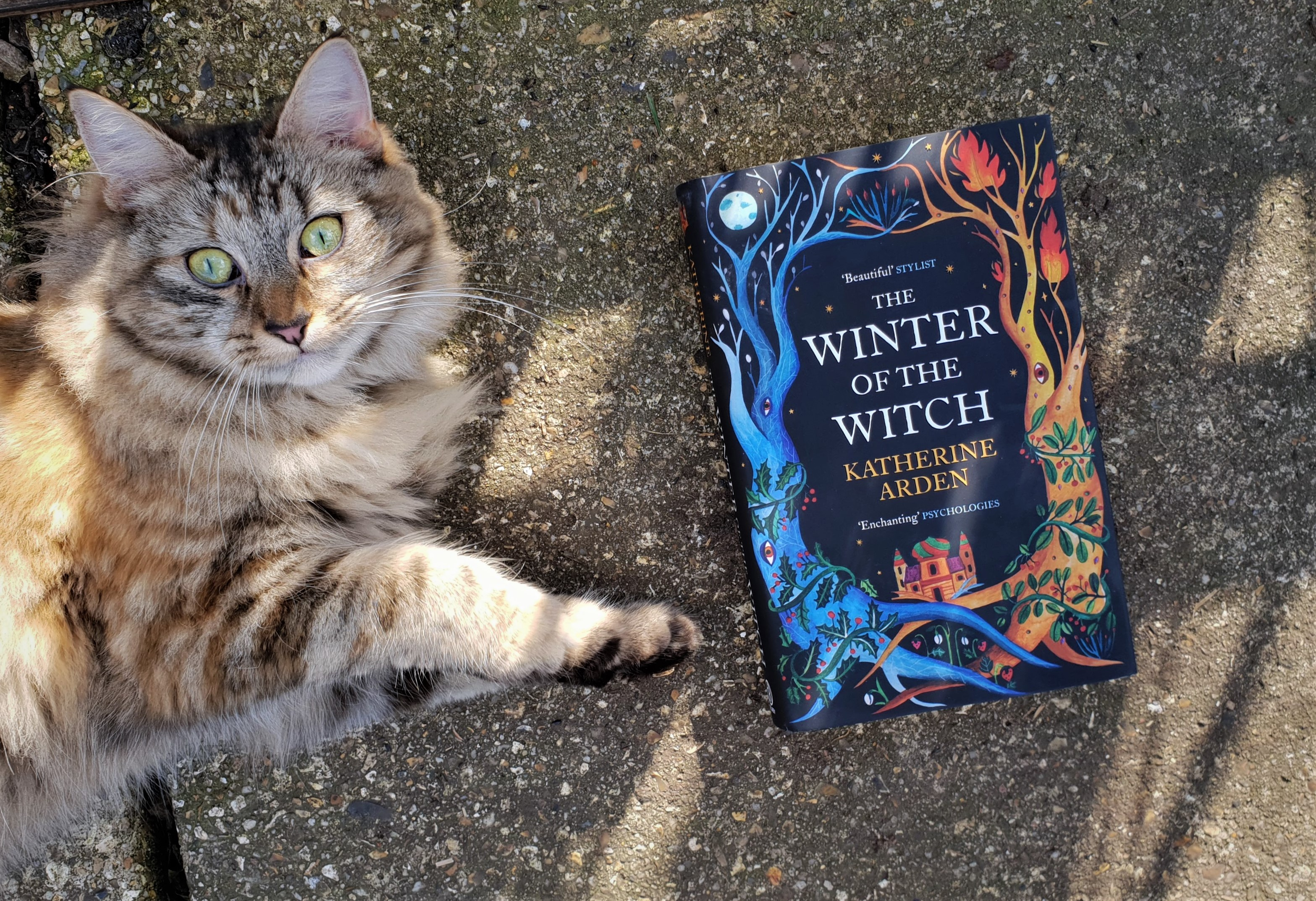 The Winter of the Witch by Katherine Arden, UK hardback cover. Winternight trilogy, book review.