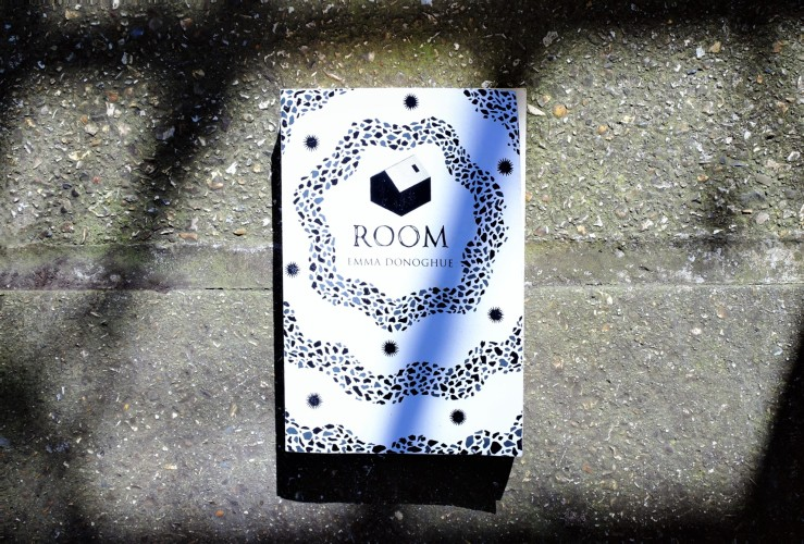 Picador 40 edition of Room by Emma Donoghue. Room book cover.