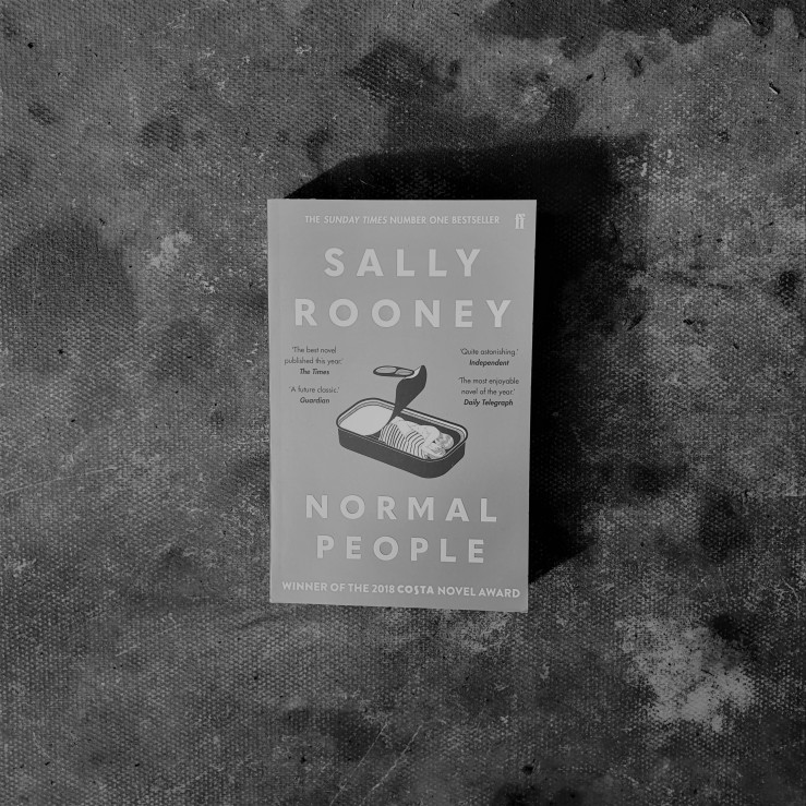 Normal People by Sally Rooney. Book review of Normal People. Irish literature.